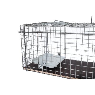 einseitige 80x26x28cm große Marderfalle Katzenfalle
